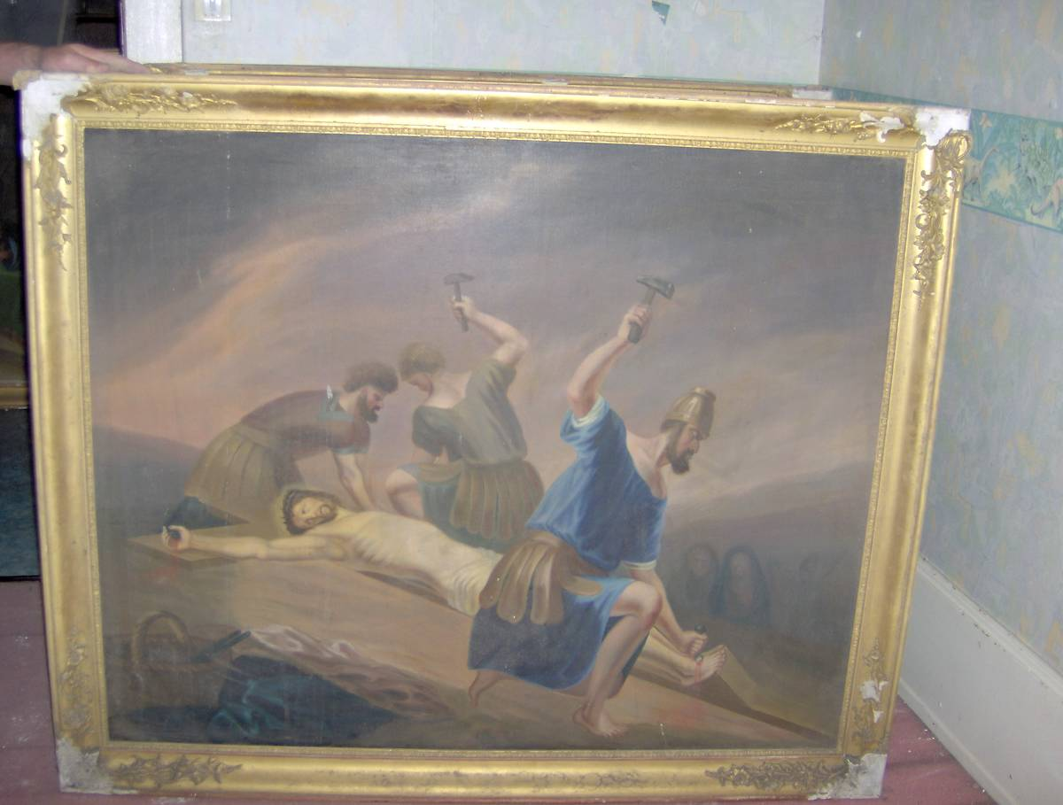 CHEMIN DE CROIX DE L'EGLISE SAINT-LAURENT A DOMMARTIN LES REMIREMONT