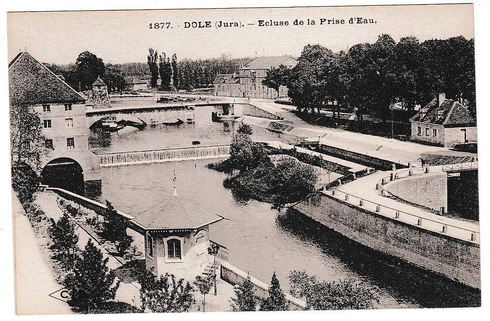 KIOSQUE DU CANAL A DOLE