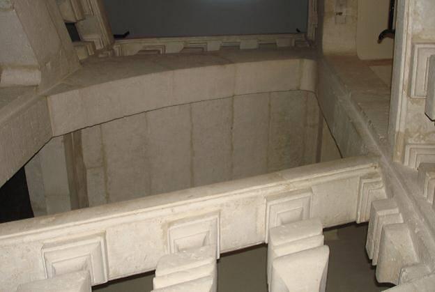escalier renaissance fontenay le comte