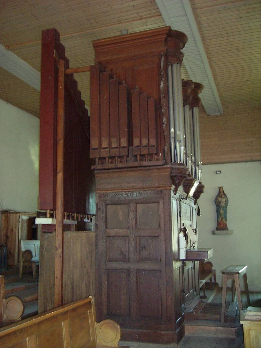 ORGUE DE L'EGLISE DE TENDON