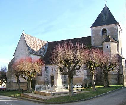 EGLISE DE LA DECOLLATION DE SAINT JEAN BAPTISTE A CHEMILLY SUR SEREIN