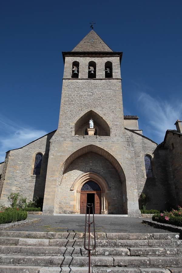 MAITRE AUTEL DE L'EGLISE SAINT JEAN BAPTISTE DE CHANAC