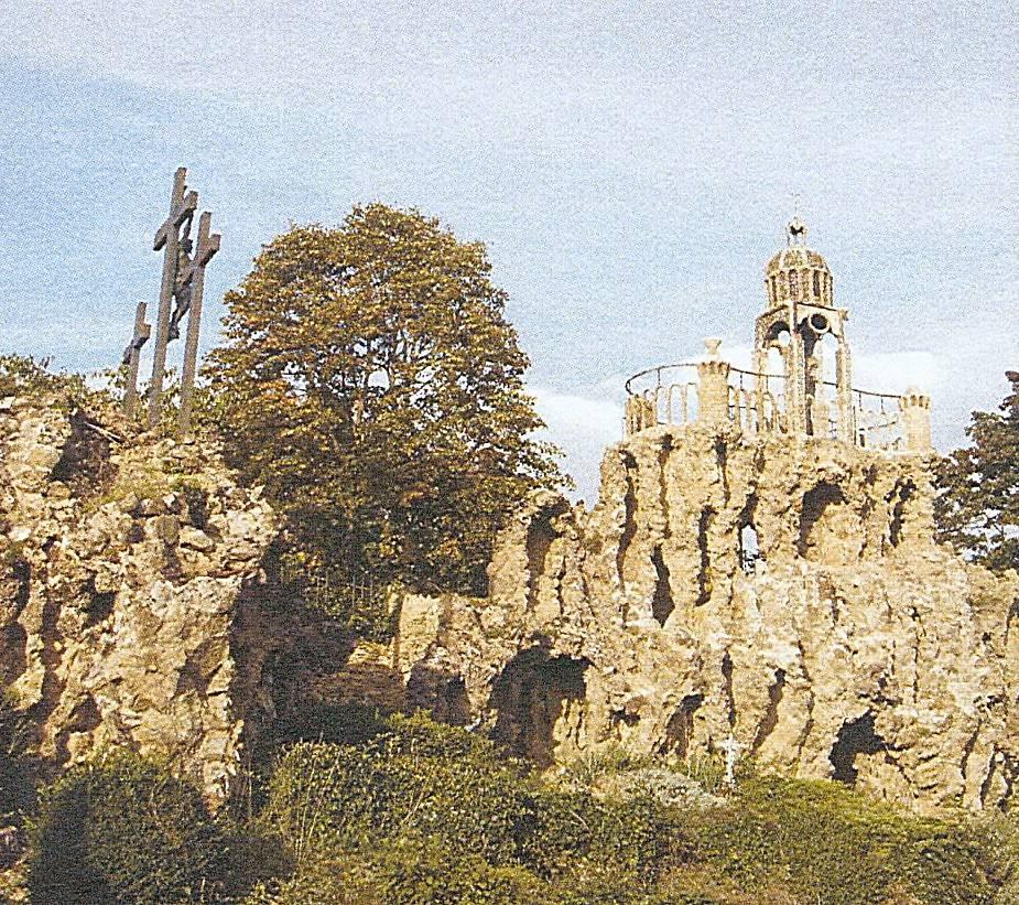 Jardin Rocaille De L\'Ermitage Du Mont Cindre