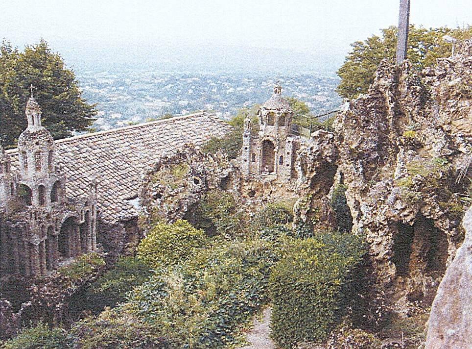 Jardin rocaille de l 39 ermitage du mont cindre - Les jardins des monts d or ...