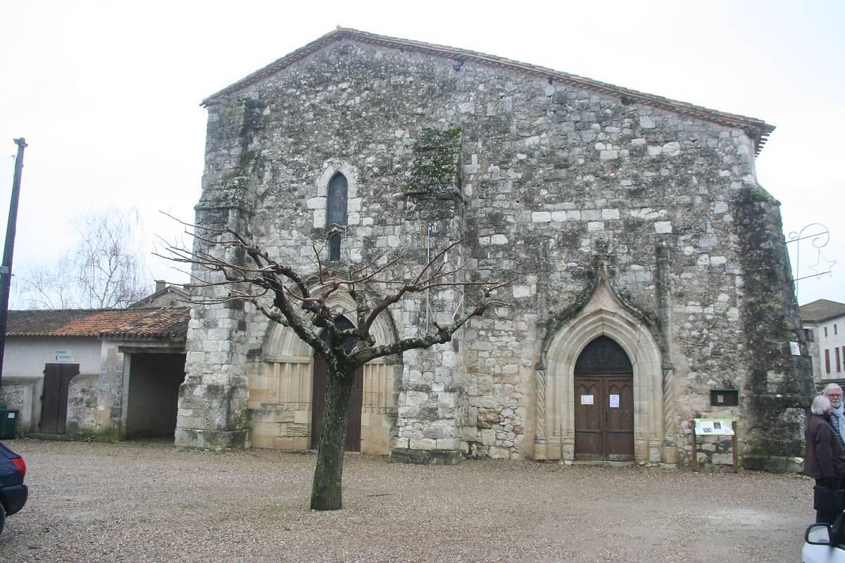 Eglise de Velines, Dordogne