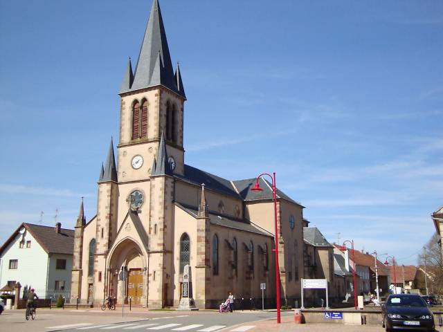 EGLISE SAINT PIERRE D'ENCHENBERG