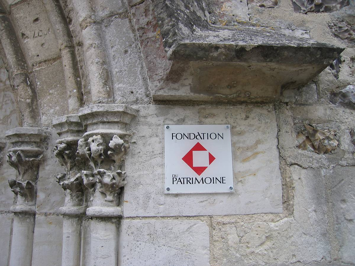Plaque Fondation du Patrimoine sur EGLISE SAINTE MARIE DE BRESTOT