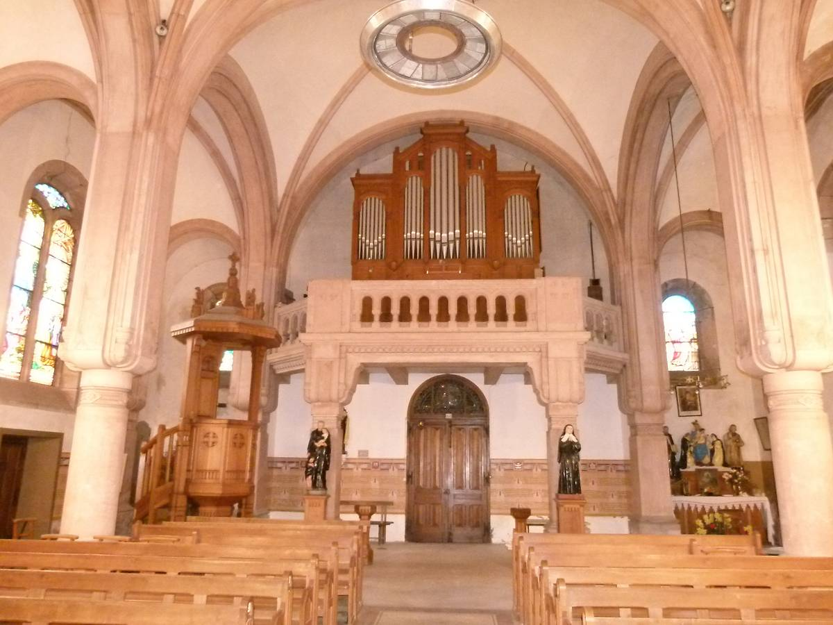 ORGUE DE L'EGLISE SAINT-BARTHELEMY A WISEMBACH