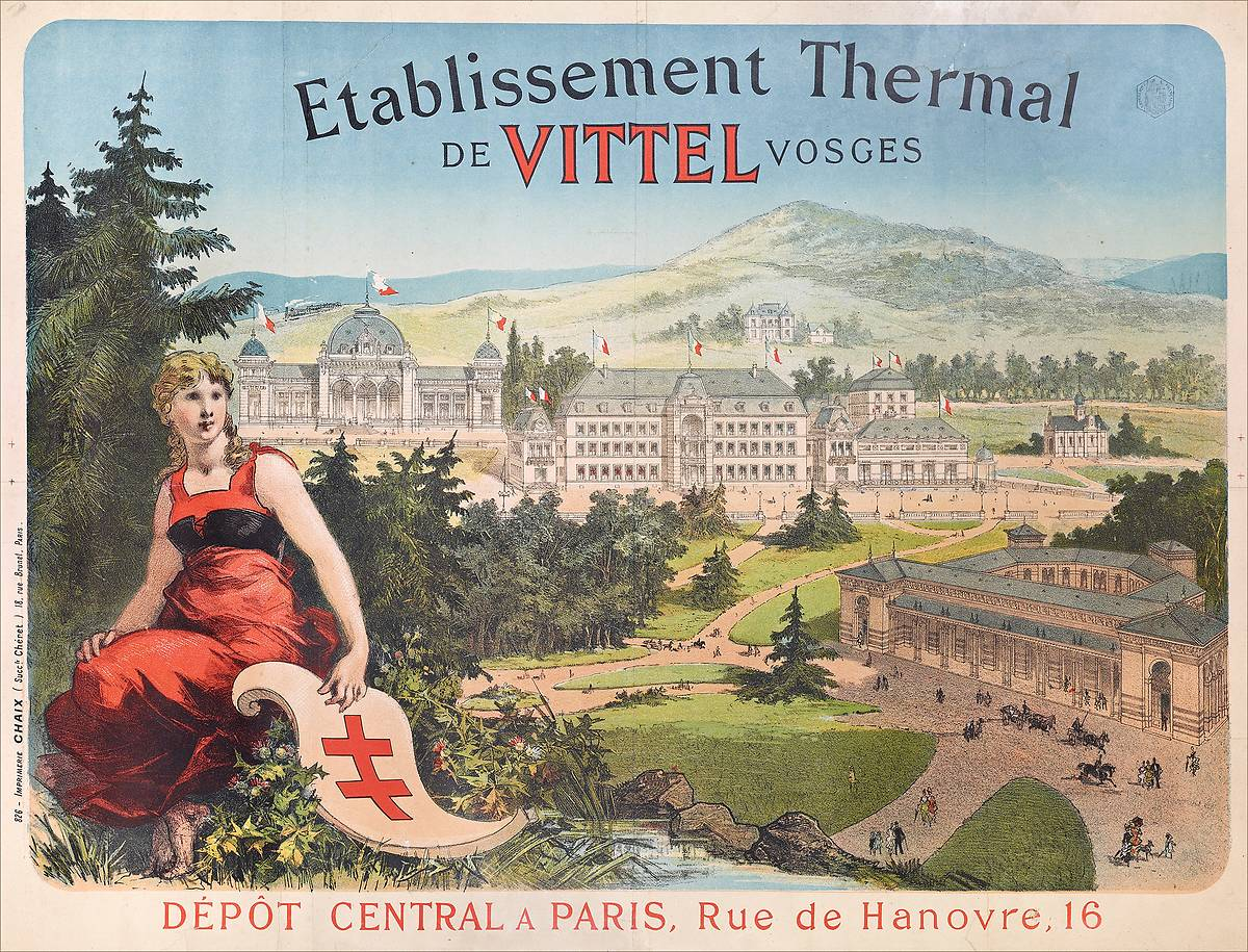 ANCIENNE GALERIE THERMALE DE VITTEL