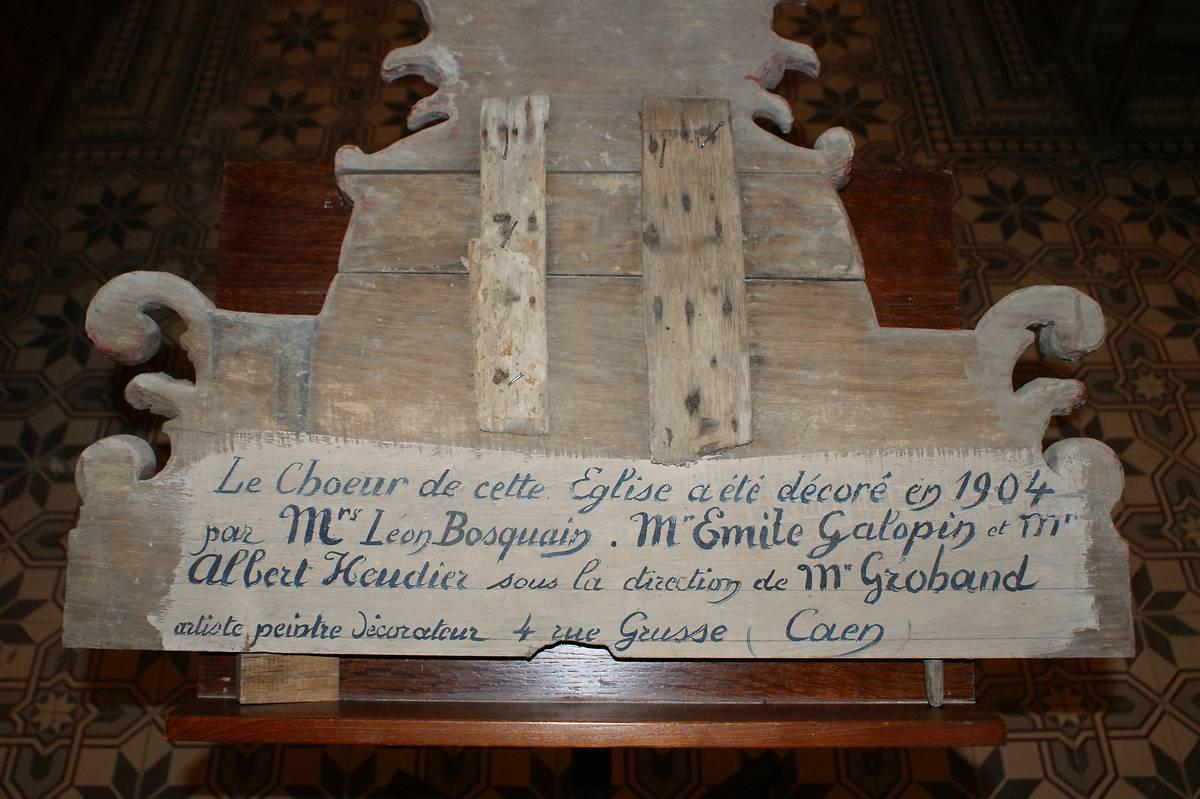 EGLISE D OUILLY LE VICOMTE