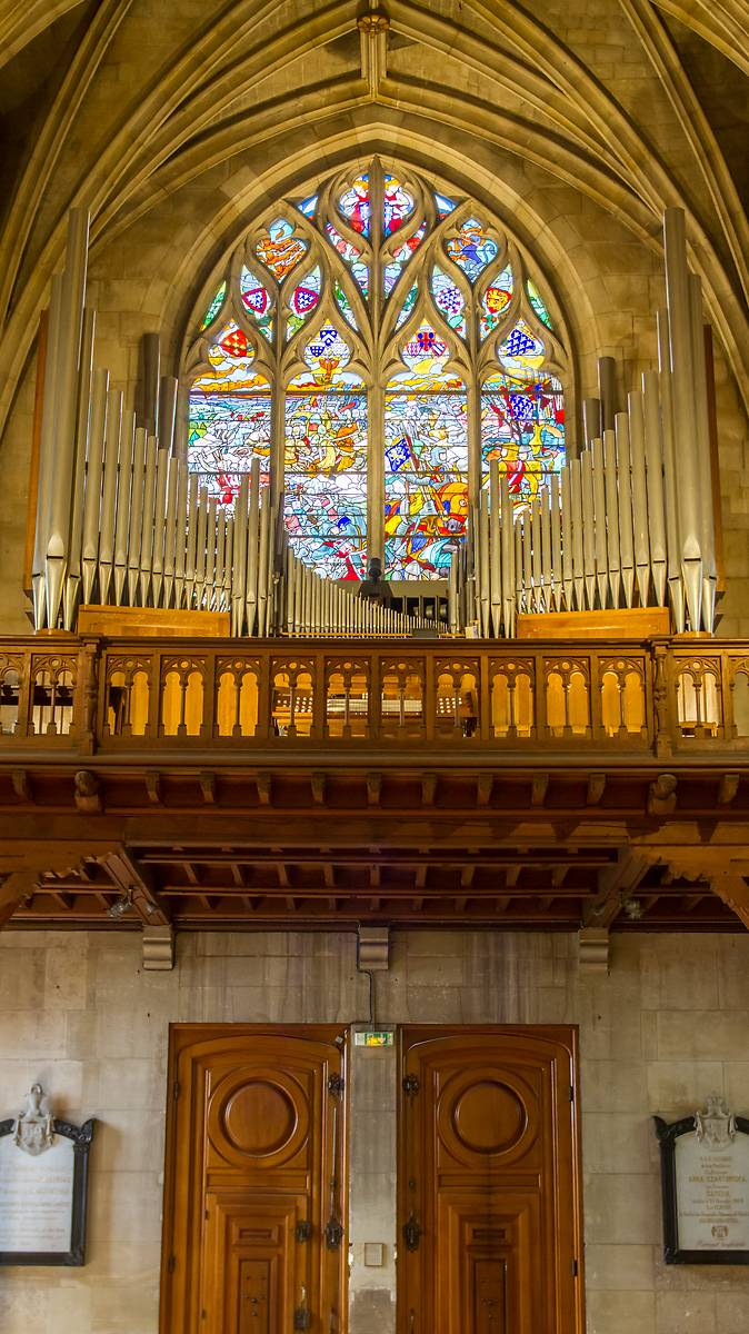 GRAND ORGUE DE LA COLLEGIALE DE MONTMORENCY