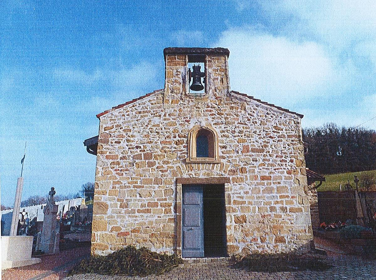 chapelle saint thomas a saint pierre de chandieu