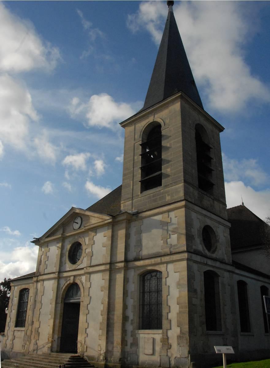 Eglise saint vigor de marly le roi - Piscine de marly le roi ...