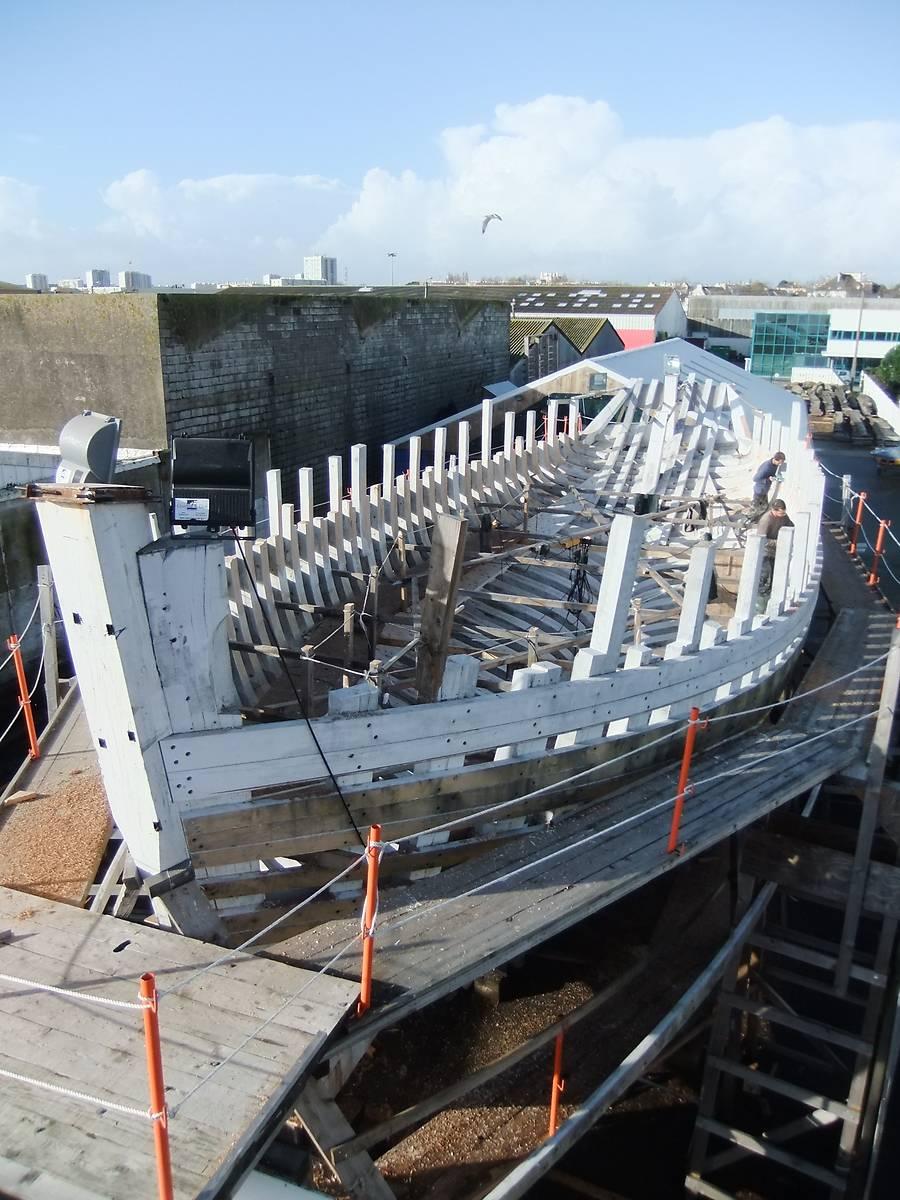 bateau thonier biche a lorient