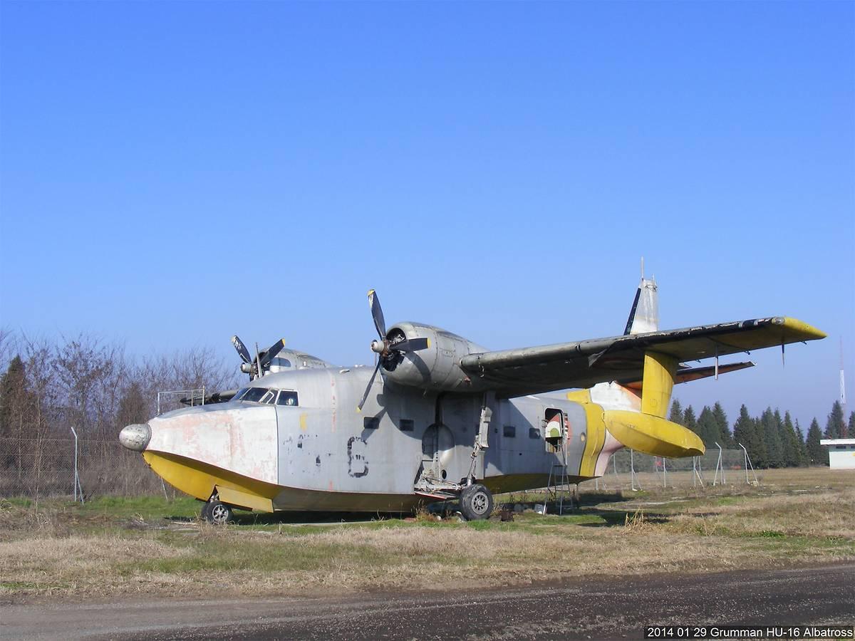 Hydravion Grumman Albatross, Biscarosse