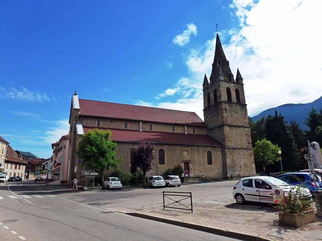 EGLISE ST JEAN-BAPTISTE DE VAULNAVEYS LE HAUT