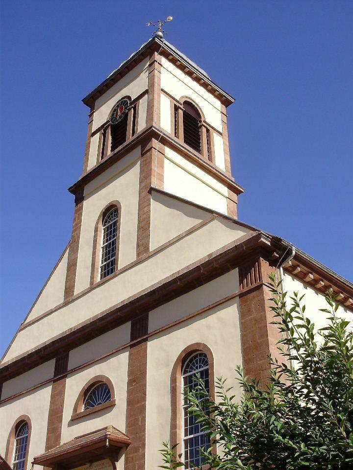 EGLISE SAINT-JEAN-BAPTISTE DE MOLLAU