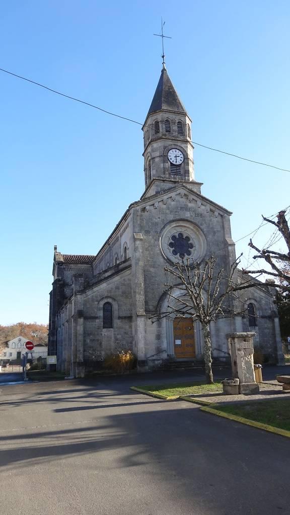 eglise saint luperc gabarret