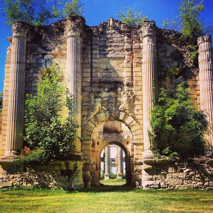 Les ruines du Château royal de Montceaux les Meaux