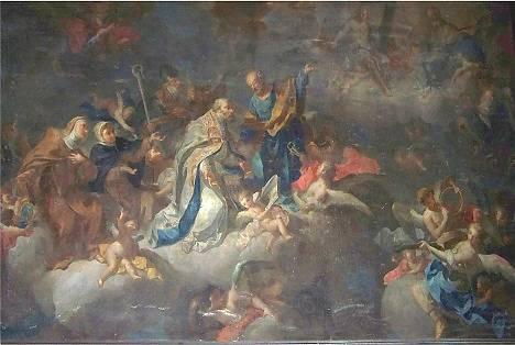 TABLEAU XVIII DANS L' ÉGLISE SAINT PIERRE-ES-LIENS A LA DESTROUSSE