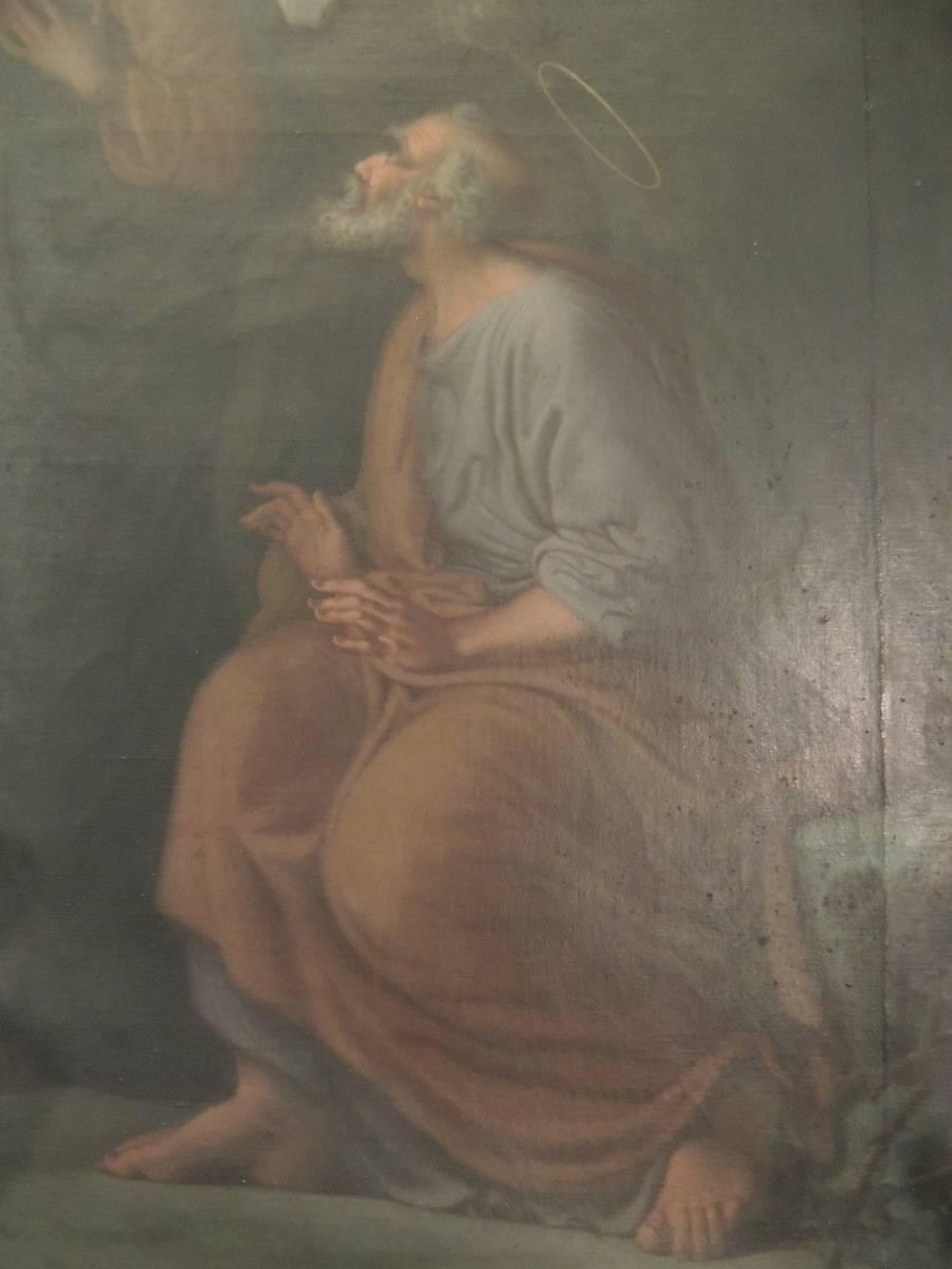 TABLEAU LE CHRIST BENISSANT JERUSALEM SARRIANS