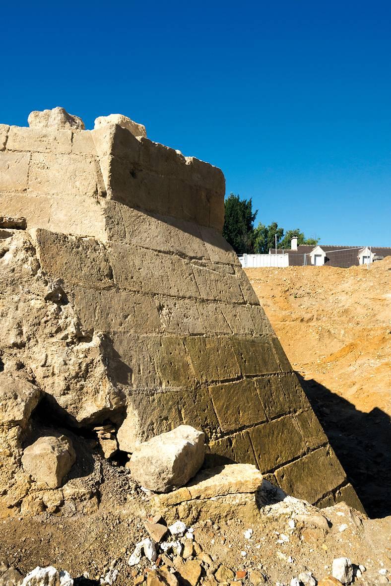 VESTIGES ARCHEOLOGIQUES DU CHATEAU DE VIARMES