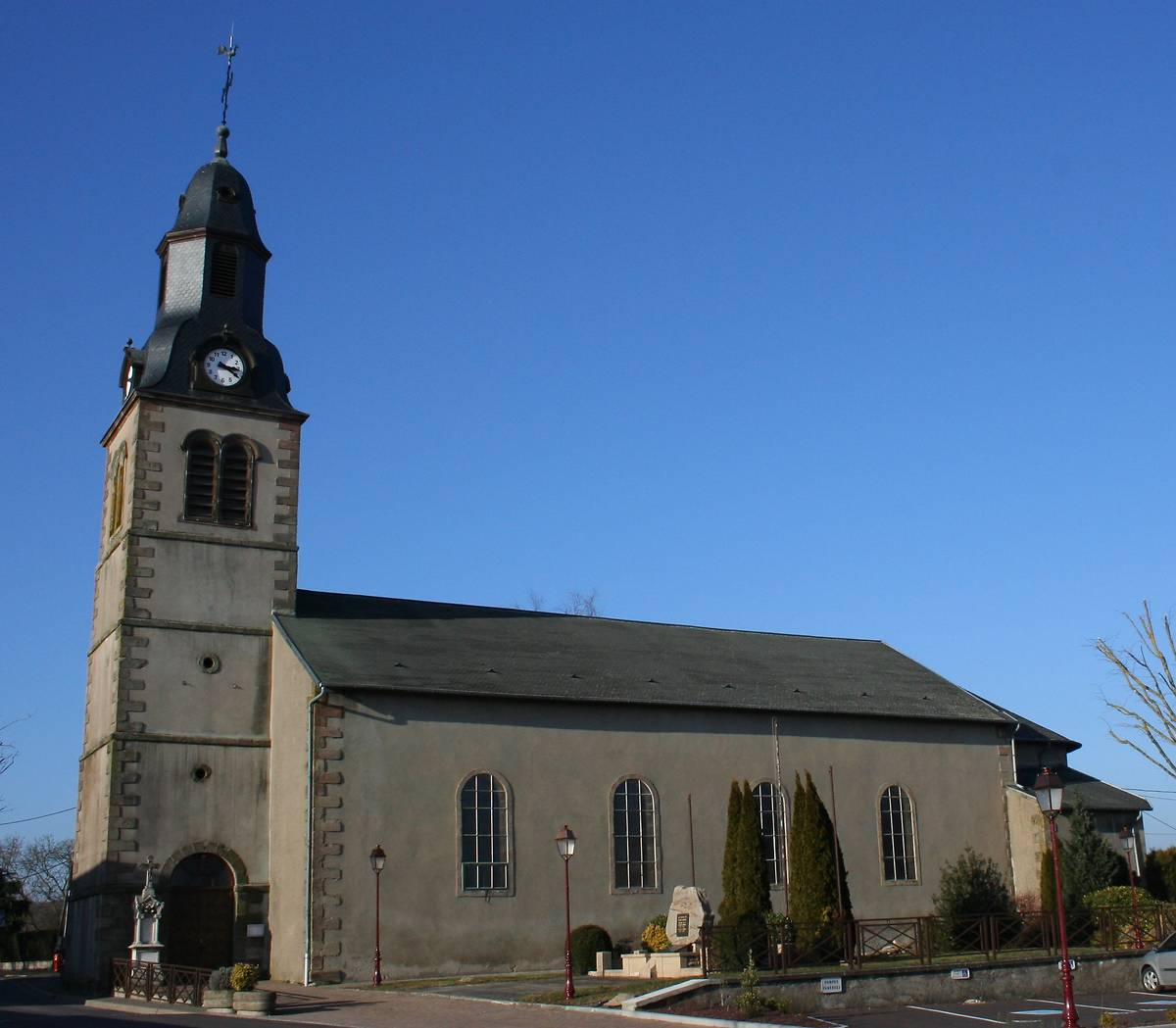 EGLISE DE TETING SUR NIED