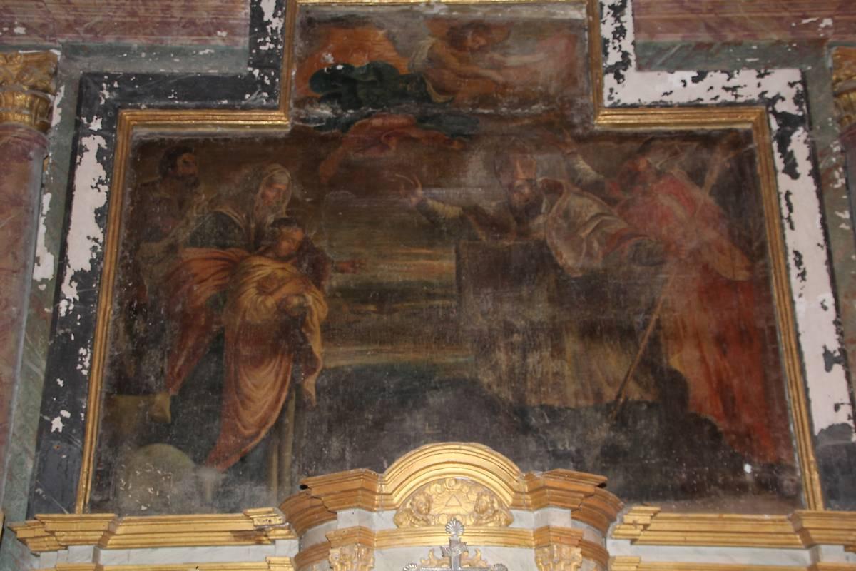 tableau saint germain eglise de louvigny