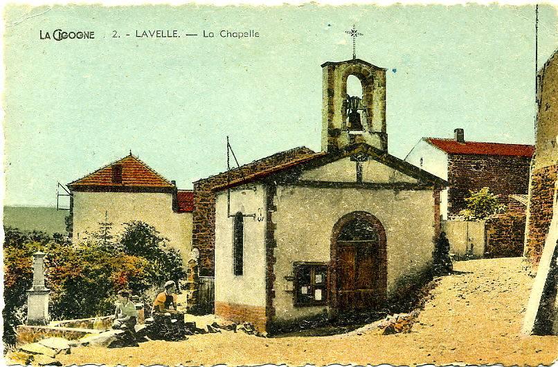 CHAPELLE DE LAVELLE A SAINT VINCENT