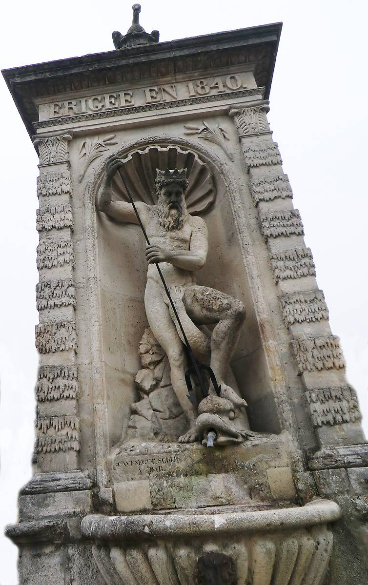 fontaine neptune dandernay