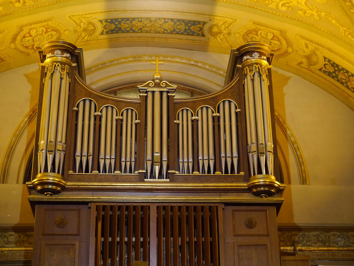 ORGUE DE LA CHAPELLE DES SPIRITAINS À PARIS