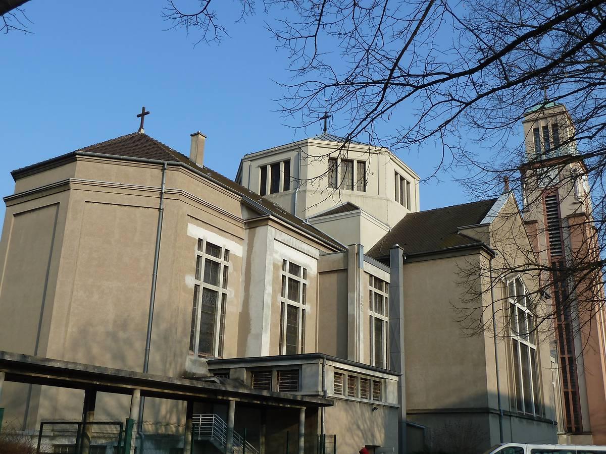 Eglise Sainte Jeanne d'Arc de Mulhouse