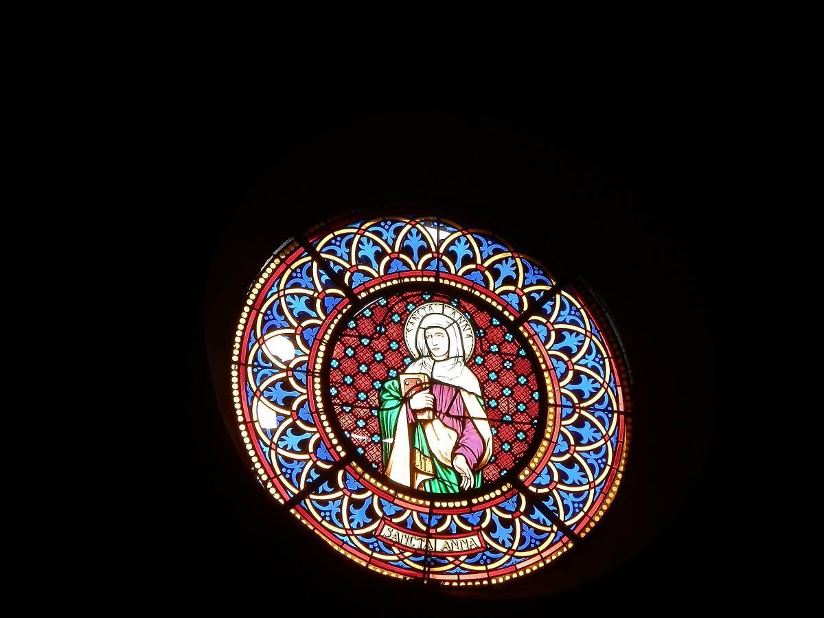 VITRAUX DE L'EGLISE SAINT-PHILIBERT A SAINT-PIERRE D'ENTREMONT