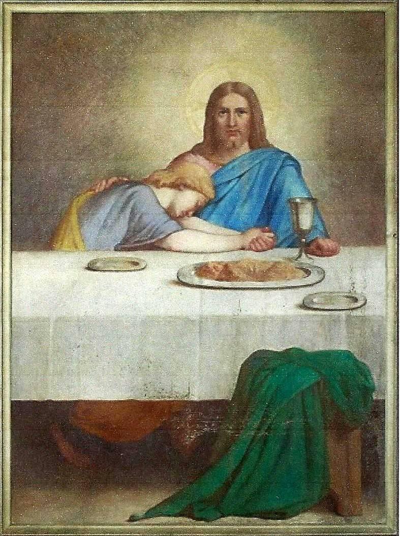 TOILES D'ETIENNE AUDFRAY À L'ÉGLISE DE SAINT CHRISTOPHE DU BOIS