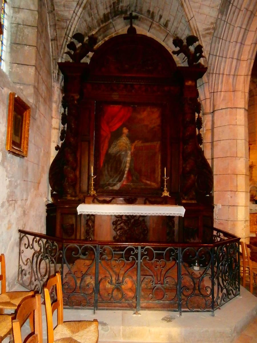 retable du voeu de Louis XIII de l'église de Préchac