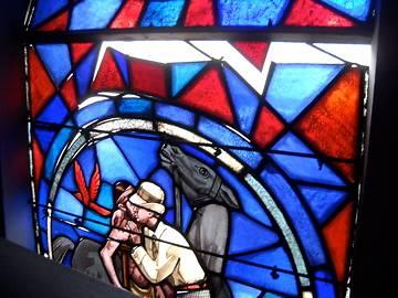 VITRAUX DE L'EGLISE SAINT FRANCOIS DE ROQUECOURBE