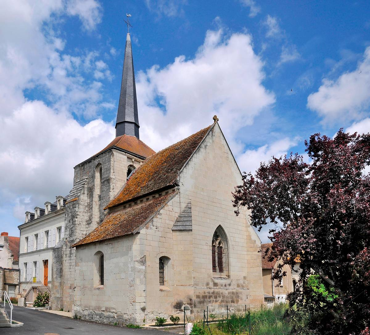 Le Bois Saint Martin - Eglise Saint Martin De Coussay Les Bois