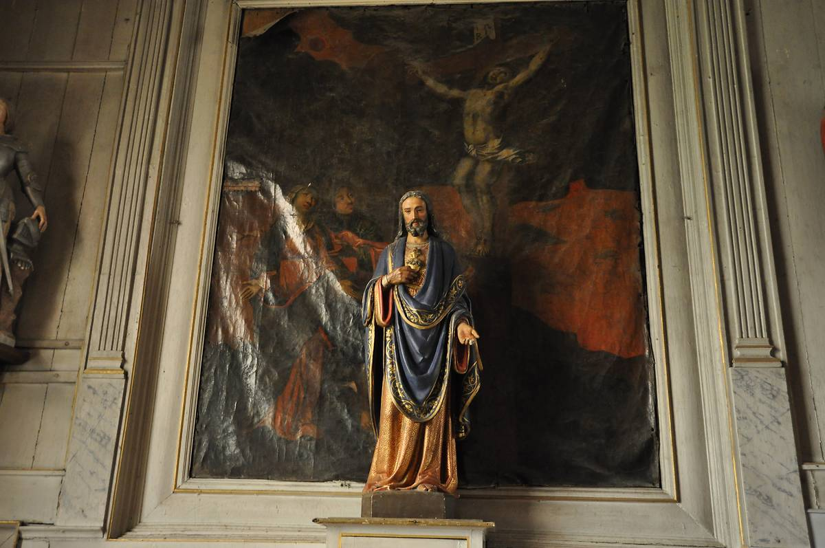 EGLISE SAINT JEAN-BAPTISTE A LEZARDRIEUX
