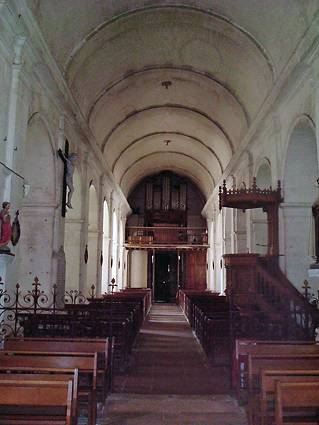 ORGUE EGLISE DE CRUZY LE CHATEL