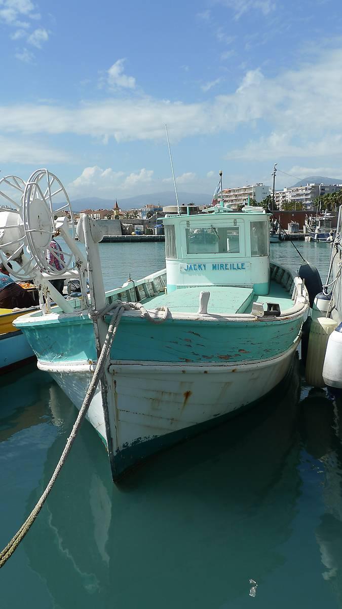 bateau jacky mireille a cagnes sur mer