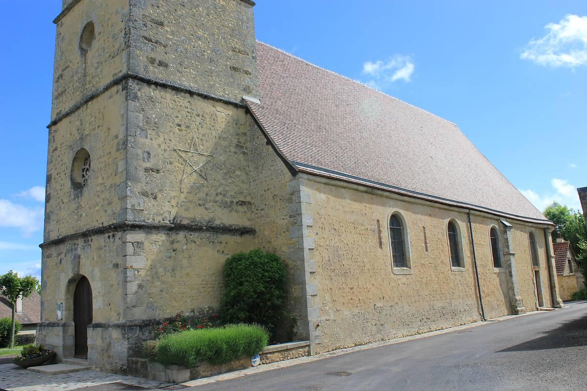 eglise de saint aubin dappenai