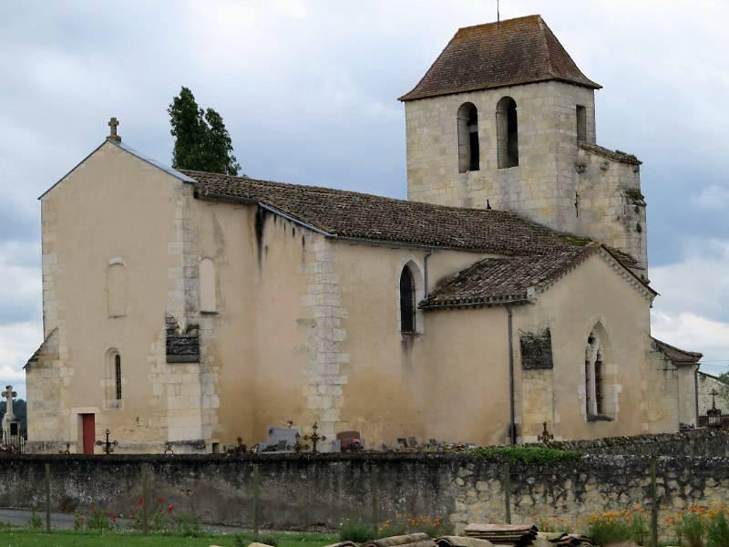 Eglise Saint-Jean-Baptiste de Cameyrac, à Saint-Sulpice et Cameyrac, Gironde