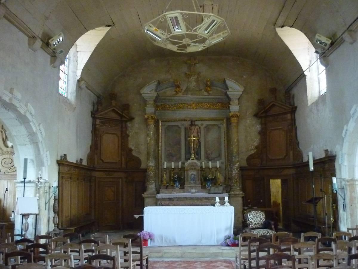 EGLISE SAINT-JEAN-BAPTISTE DE CAMEYRAC À SAINT-SULPICE ET CAMEYRAC