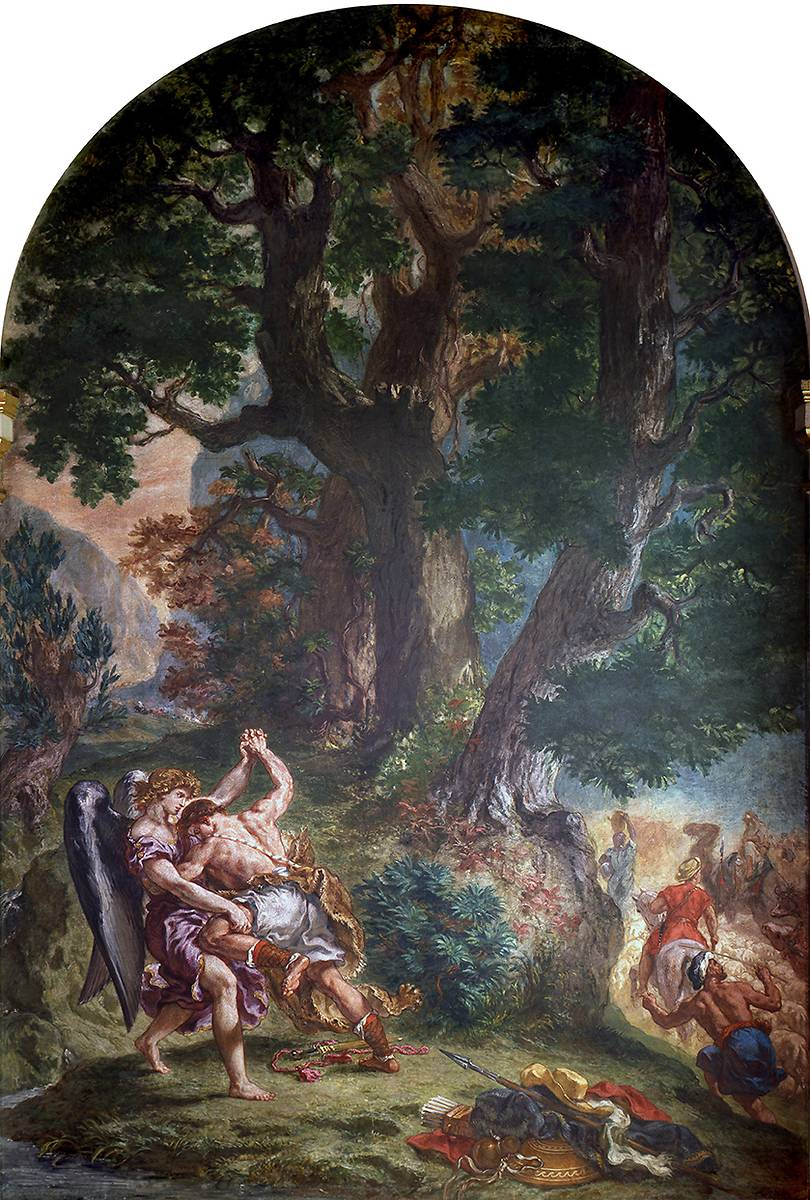 CHAPELLE DES SAINTS-ANGES PAR DELACROIX A L'EGLISE SAINT SULPICE
