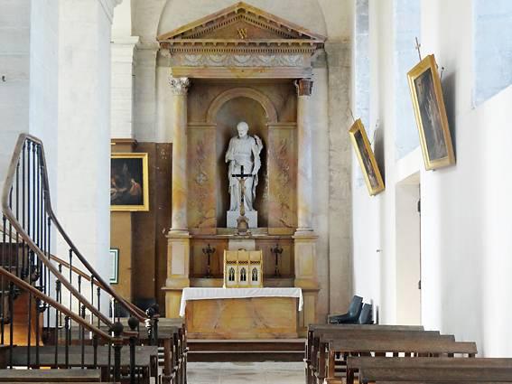 TABLEAU LE BAPTEME DU CHRIST A GRANCEY SUR OURCE