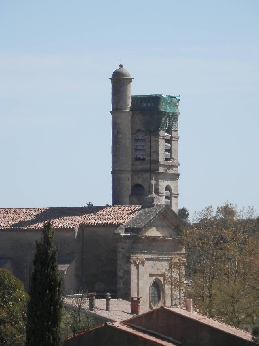 CLOCHER DE L'EGLISE DE PUECHABON