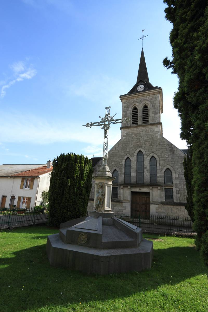 EGLISE SAINT BLAISE A AVOCOURT