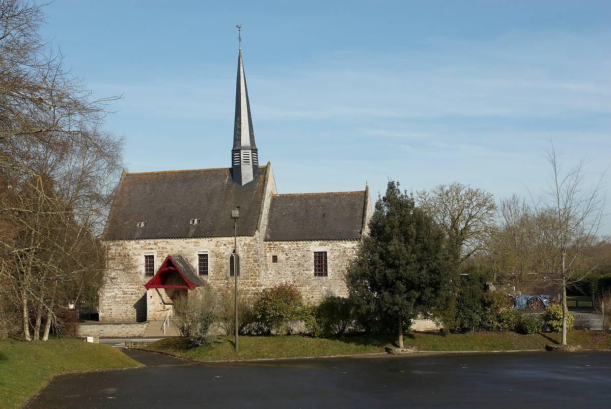 STATUES DE L'EGLISE SAINTE-AGNES A TREFUMEL