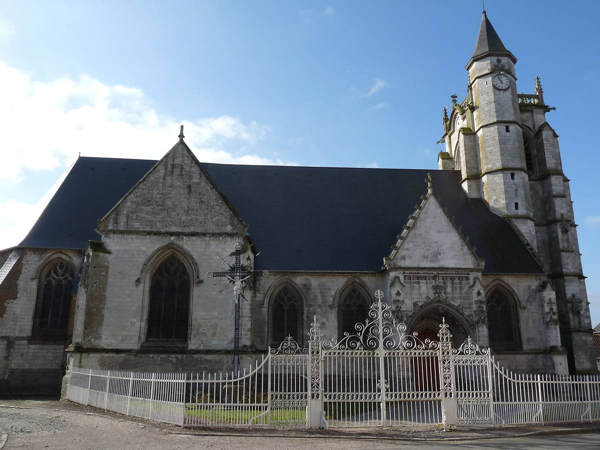 EGLISE SAINT SEVERIN CRECY EN PONTHIEU