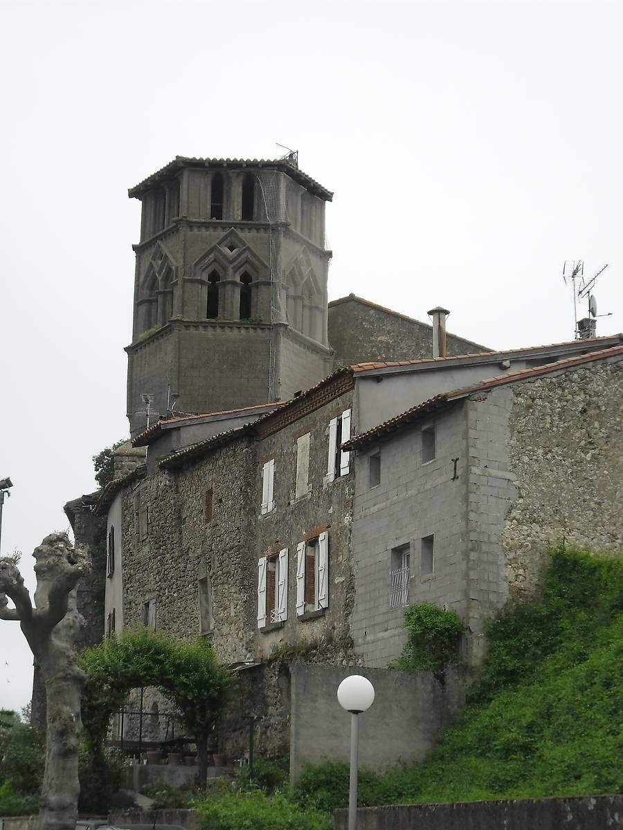 CLOCHER DE L'EGLISE DE SAINT YBARS